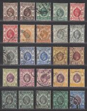 Hong Kong 1912-21 King George V Set to $1 Used SG100-112