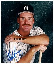 WADE BOGGS 8X10 AUTHENTIC IN PERSON SIGNED AUTOGRAPH REPRINT PHOTO RP