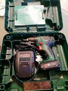 Bosch Akkubohrschrauber PSR 1800 li2 Mit 1 Akku und Ladegerät Neu im Koffer