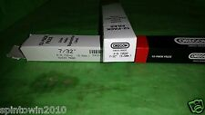 """Lot of 2 12 Pack New Genuine OEM Oregon 70502 7/32"""" Chain Saw File for 3/8 Chain"""