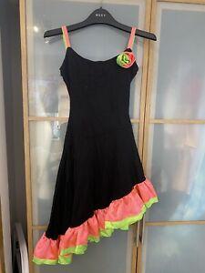 Girls Latin American / Spanish Fancy Dress Costume Approx Age 12 Years