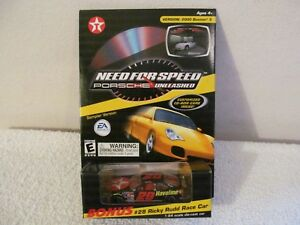 NEED FOR SPEED PORSCHE UNLEASHED CD ROM PC GAME AND #28 NASCAR TEXACO 1/64 RICKY