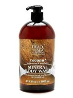 Coconut Body Wash with Natural Dead Sea Minerals 1000 ml