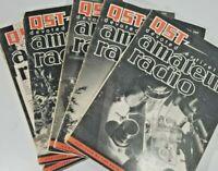 Vintage Lot Of 6 Qst Amateur Radio Magazines Ham Radio 6 issues 1949