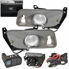 92 93 94 95 Honda Civic EG JDM Replacement Upgrade Front Clear Fog Light Lamp