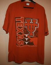 Mens Vtg UNIVERSITY UT Austin Texas Longhorns Horns 90s T-Shirt XL Lee Bevo