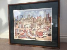 Contemporary (1980-Now) Cityscapes Multi-Colour Art Prints