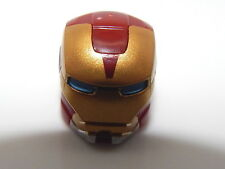 Lego Super Heroes Iron Man Blue Eyes Minifigure Helmet