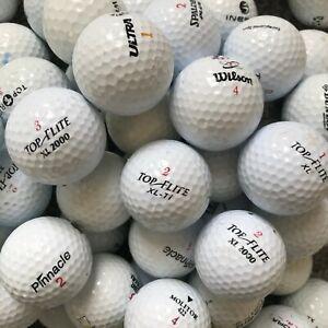 24 Golf Balls Mixed Lot Top Flite Wilson Pinnacle Ultra Dunlop Cheap Mix