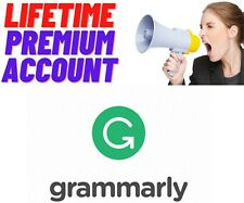 GRAMMARLY.PREMIUM | 🔥 LIFETIME ACCOUNT🔥 | ⚡INSTANT DELIVERY⚡|100% GUARANTEED✔️