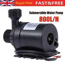 Brushless Submersible Water Fountain Pump Pond Garden Pool Solar Circulation