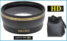 0.43x Hi Def Wide Angle with Macro Lens for Panasonic DMC-FZ18 DMC-FZ28