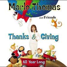 Thanks & Giving All Year Long by Marlo Thomas (CD, Nov-2004, Kid Rhino (Label))