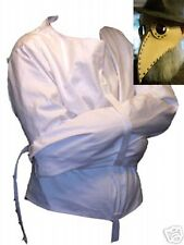 Straight Jacket and LEATHER plague mask Halloween combo costume set- Any Size*