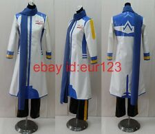 Vocaloid Kaito Blue white Cosplay Costume Custom