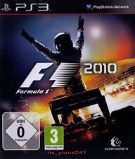 Formel Eins Formula One F1 2010 deutsch | PS3 NEU