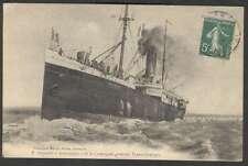 S.S Paquebot Martinique Ship CGT France Postcard