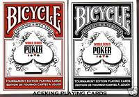 2 Decks Bicycle WSOP Playing Cards poker