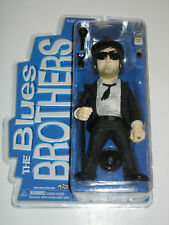 "The Blue Brothers Jake & Elwood 12"" Action Figures by Mezco, New in Packaging"