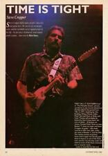 Steve Cropper STAX UK 'Guitarist' Interview Clipping TRANSPARENCY