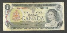 1973 RADAR REPEATER $1.00 * 0505050 * Very RARE 2-Digit Cycle Canada One Dollar