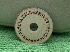 Rolex A-295 Big Bubble Back Roulette Date Wheel Genuine