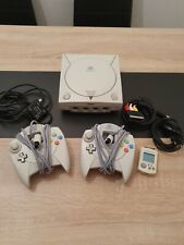 Sega Dreamcast mit 2 Controller Memory Card Kabeln + Dream on Collection 2