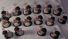 "Wedding Place Card Holders Miniature Bride Groom Kate Aspen 3"" Mixed Lot 17"