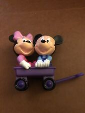 MICKEY MOUSE AND MINNIE In A Wagon