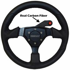 Carbon Fiber Steering Wheel Push to Talk PTT or Horn bracket RZR X3 Rugged Radio