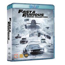 Fast And Furious 1-8 Blu Ray Box (Region Free)