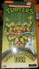 SDCC 2020 NECA TMNT Musical Mutagen Tour 4 Figure Pk SET Includes All 4 Turtles
