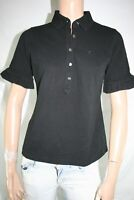 BURBERRY MAGLIA POLO DONNA TG. L WOMAN POLO T-SHIRT VINTAGE E170