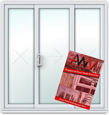 Sliding Patio uPVCDoor Price Book / VARIOUS COLOURS / Fast & Free Delivery (#23)