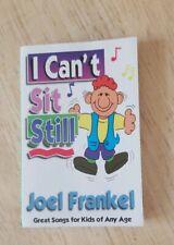 Vintage cassette tape I Can't Sit Still Joel Frankel Kid Songs Catchy Cat Colors
