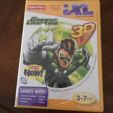 Fisher Price iXL Green Lantern 3D Game NEW! Factory Sealed!
