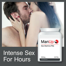 MAN UP SEX STAMINA PILLS IMPROVE STAMINA AND PERFORMANCE LAST ALL NIGHT LONG