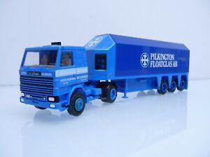 Herpa H0 1.87 Scania 142M Glastransporter Pilkington Floatglas AB / Nico Nijman