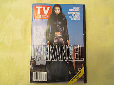 2000 TV Guide Time Warner/Manhattan Edition Nov 25-Dec 1 Dark Angel NM