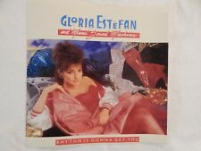"""Gloria Estefan"""" Rhythm Is Gonna Get You"""" PICTURE SLEEVE! ONLY NEW COPY ON eBAY!"""