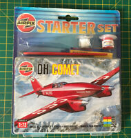 Vintage Airfix DH Comet 1/72 Scale Model Kit 00013 Sealed New old stock Starter