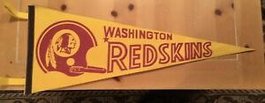 Vintage Washington Redskins NFL  Pennant
