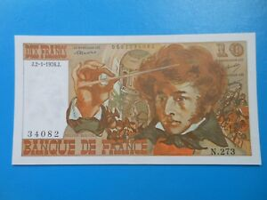 10 francs Berlioz 2-1-1976 F63/16 PRESQUE NEUF