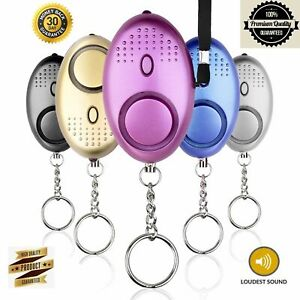 Police Approved Personal Keyring Safety Security Alarm Panic Rape Attack 140db