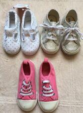 Nike Black Water Shoes, Gap & Gymboree Pink & White Sneakers, Toddler Size 7-8