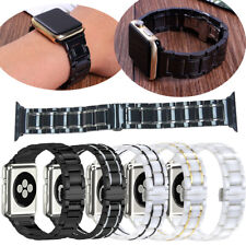 Ceramic Band For Apple Watch Series 5 4 3 2 1 44mm 40mm Bracelet Stainless Steel