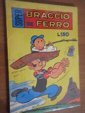 SUPER BRACCIO DI FERRO N. 70 del 1971 - Ediz Bianconi  stato Ottimo di Busta   L