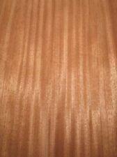 Mahagoni Furnier Holz gestreift 1E 75x24cm 6 Blätter