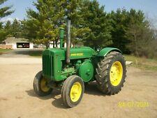 1947 John Deere D Antique Tractor No Reserve Electric Start farmall allis oliver