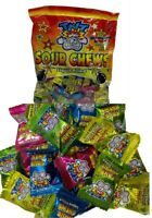 TNT Sour Chews x 220 Bulk Lollies 1kg Halloween Candy Buffet Party Favors Sweets